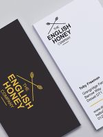 Avery Black and White Business Card Design