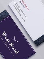 Avery Blue and White Design Business Card Pads
