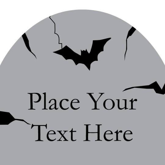 Avery Gravestone Halloween Template Design