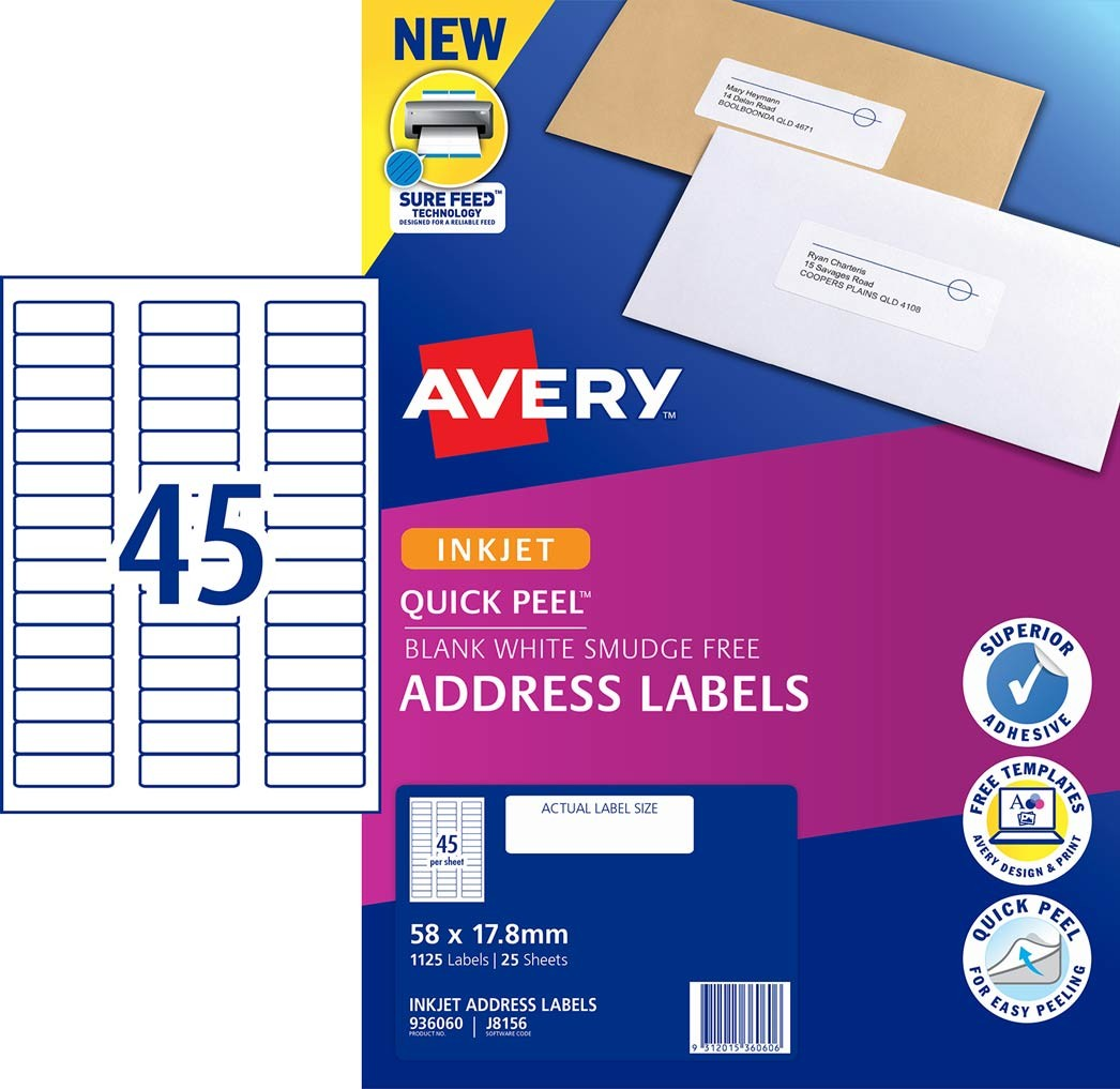 avery 6 up label template