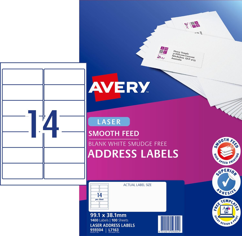 Unusual Avery L7163 Template Ideas - Example Resume Ideas