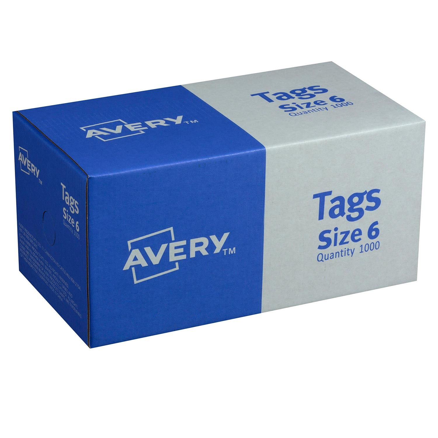 Red Shipping Tags Size 6 16110 Avery Australia