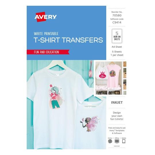 Iron On Transfers T Shirt Transfers Avery Australia
