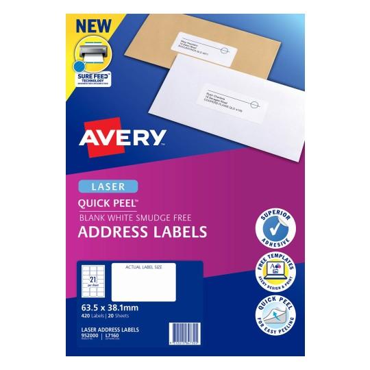 Address Labels | Address & Shipping Labels | Avery Australia