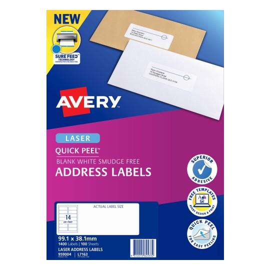 Address Labels   Address & Shipping Labels   Avery Australia