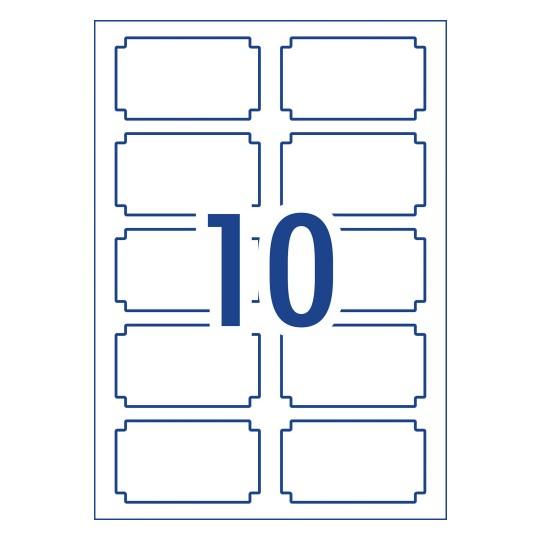 Organisation & Storage Labels