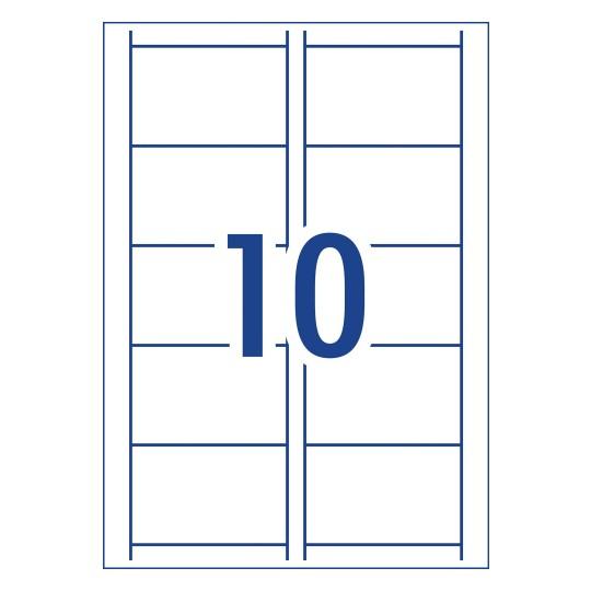 Word template for avery ij39 avery australia matt leathergrain finish business cards 90 x 52 mm 10 per sheet accmission Choice Image